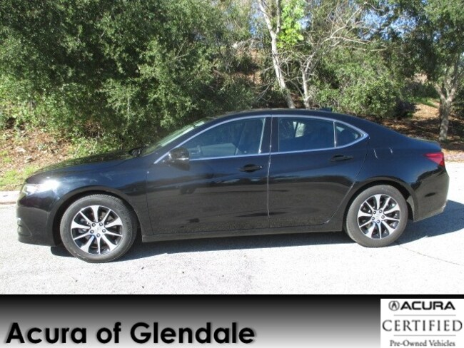 Certified Used 2015 Acura TLX 4 CYL Sedan in Glendale, CA