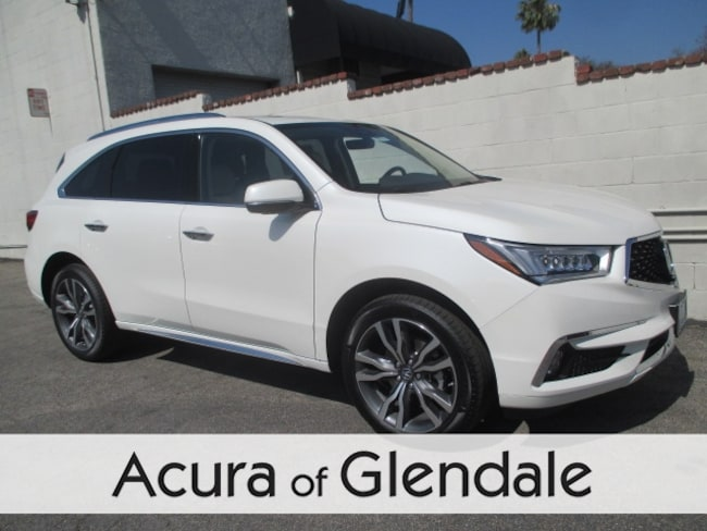 New 2019 Acura MDX with Advance Package SUV Glendale