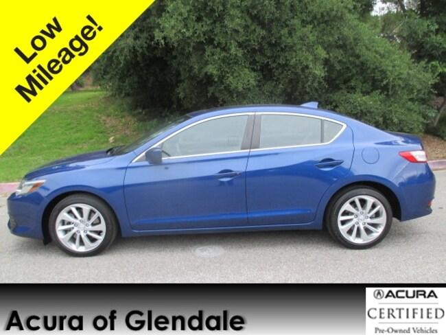 Certified Used 2016 Acura ILX Premium Sedan in Glendale, CA