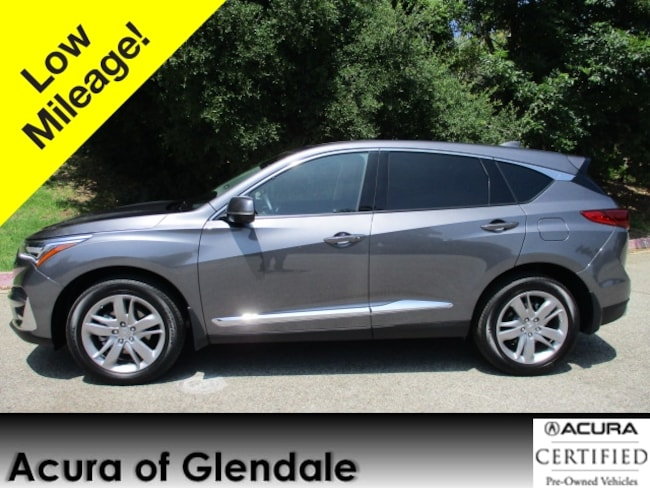 Certified Used 2019 Acura RDX AWD Advance SUV in Glendale, CA