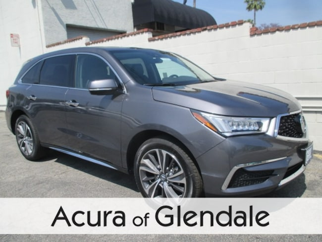 New 2019 Acura MDX SH-AWD with Technology Package SUV Glendale