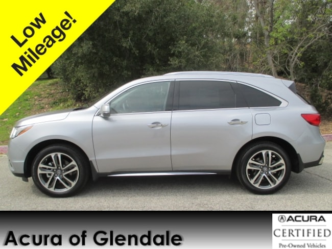 Certified Used 2017 Acura MDX Advance with Advance Package SUV in Glendale, CA
