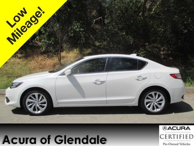 Certified Used 2018 Acura ILX Tech Sedan in Glendale, CA
