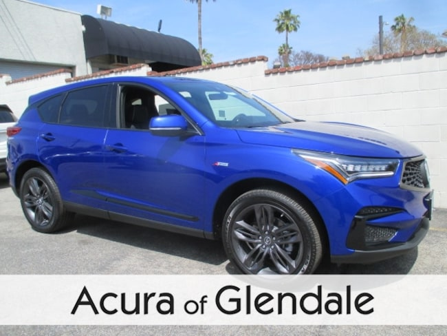 New 2019 Acura RDX with A-Spec Package SUV Glendale
