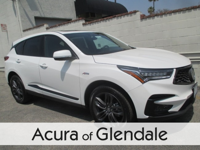 New 2020 Acura Rdx With A Spec Package For Sale Lease In Alhambra