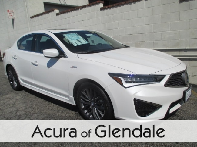 New 2019 Acura ILX with Technology and A-Spec Package Sedan Glendale