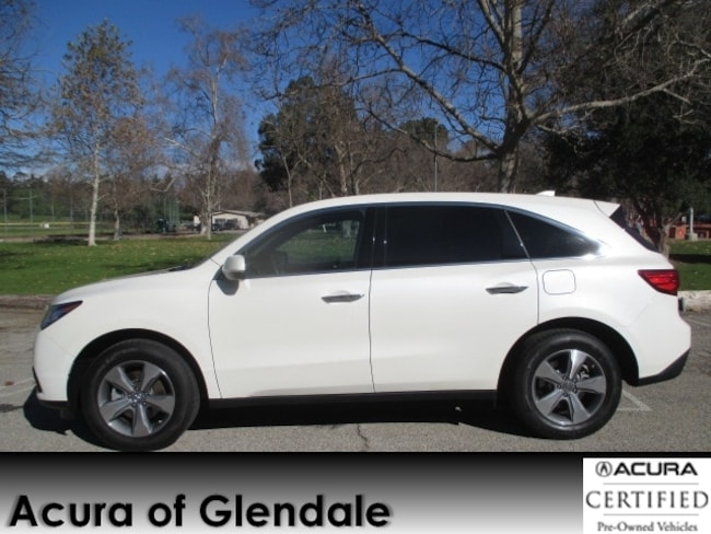 Certified Used 2016 Acura MDX SH-AWD SUV in Glendale, CA