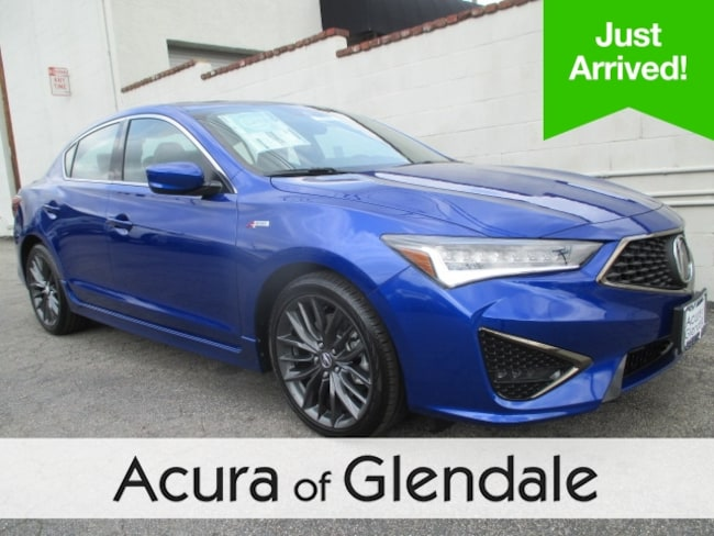New 2019 Acura ILX with Premium and A-Spec Package Sedan Glendale