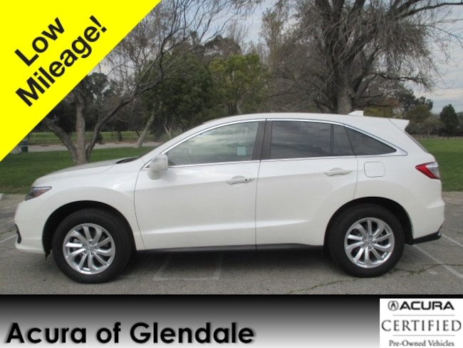 Certified Used 2018 Acura RDX Tech SUV in Glendale, CA