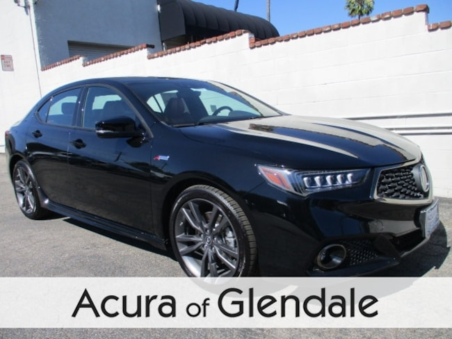 New 2019 Acura TLX 2.4 8-DCT P-AWS with A-SPEC RED Sedan Glendale