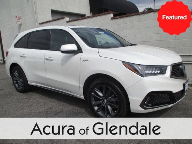 New 2019 Acura MDX SH-AWD with A-Spec Package SUV Glendale