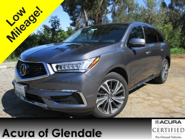 Certified Used 2019 Acura MDX Tech SUV in Glendale, CA