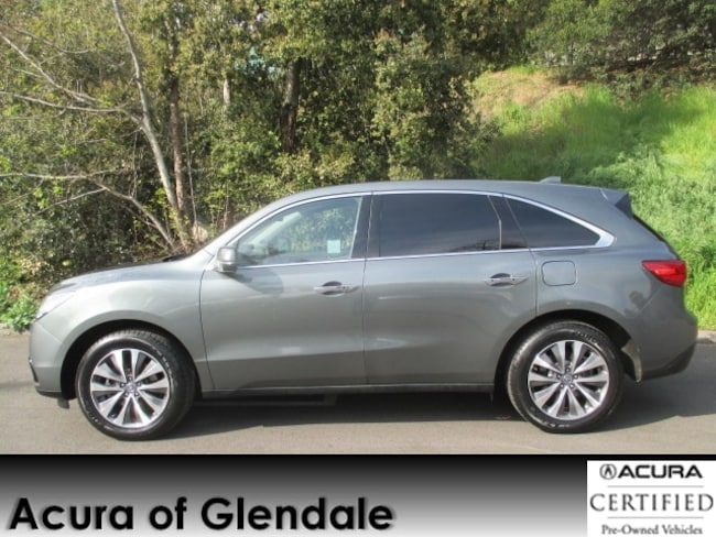 Certified Used 2016 Acura MDX SH-AWD Tech SUV in Glendale, CA