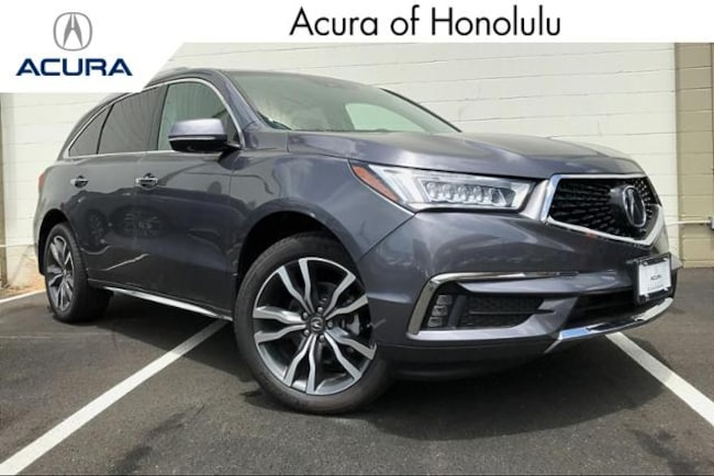 New 2019 Acura MDX with Advance Package SUV Honolulu
