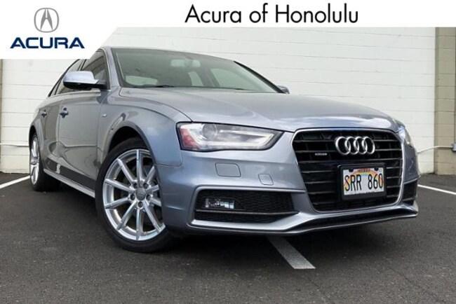 Used 2015 Audi A4 2.0T Premium Plus (Tiptronic) Sedan Honolulu, HI