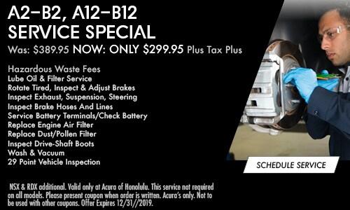 A2-B2, A12-B12 Service Special