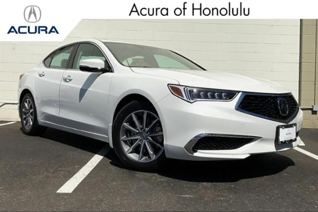 New 2020 Acura TLX with Technology Package Sedan Honolulu