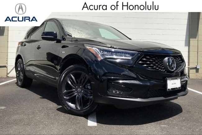 New 2020 Acura RDX with A-Spec Package SUV Honolulu