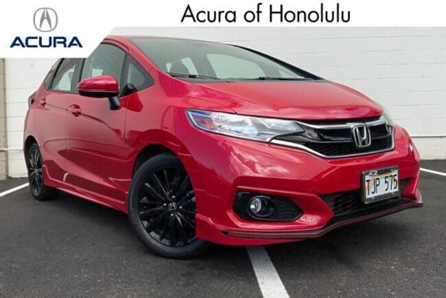 Used 2018 Honda Fit Sport Hatchback Honolulu, HI