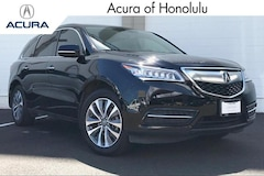 Certified 2016 Acura MDX 3.5L w/Technology Package & AcuraWatch Plus Pkgs SUV