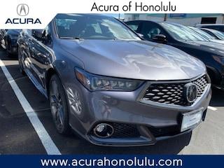 New 2019 Acura TLX 3.5 V-6 9-AT P-AWS with A-SPEC Sedan Honolulu, HI