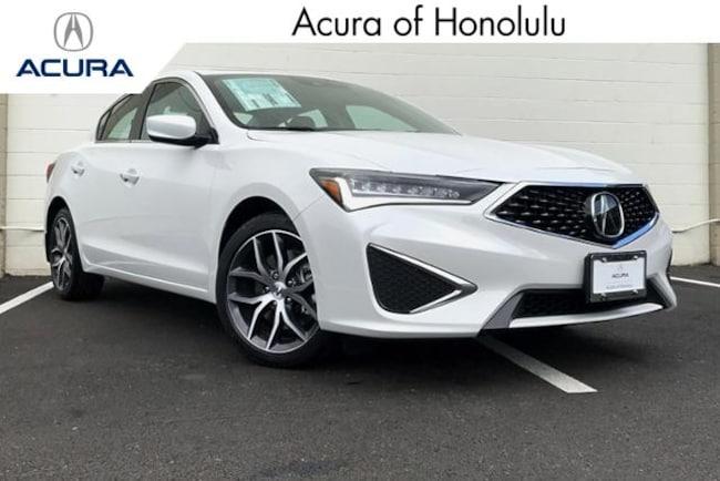 New 2019 Acura ILX with Technology Sedan Honolulu