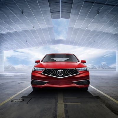 2020 Acura TLX Headlights and Moonroof