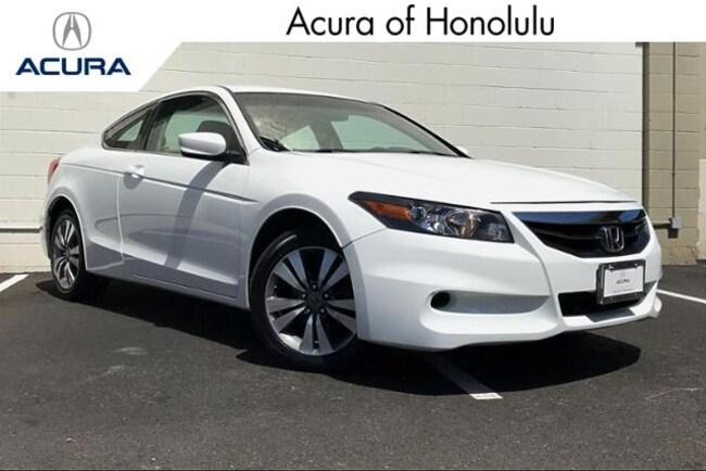 Used 2012 Honda Accord 2.4 LX-S Coupe Honolulu, HI