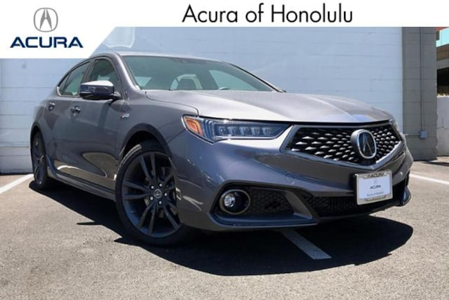 New 2019 Acura TLX 3.5 V-6 9-AT P-AWS with A-SPEC RED Sedan Honolulu