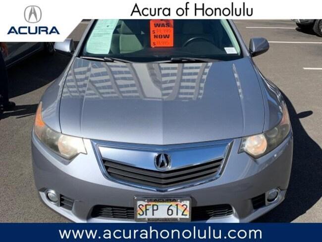 Used 2011 Acura TSX TSX 5-Speed Automatic Sedan Honolulu, HI