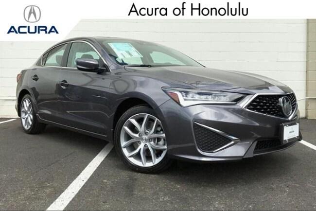 New 2019 Acura ILX Base Sedan Honolulu