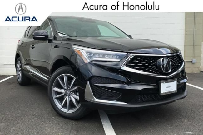 New 2019 Acura RDX SH-AWD with Technology Package SUV Honolulu