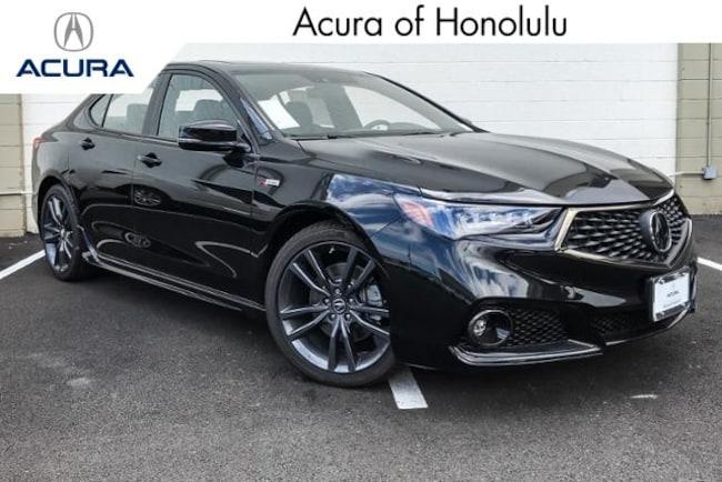 New 2019 Acura TLX 2.4 8-DCT P-AWS with A-SPEC Sedan Honolulu