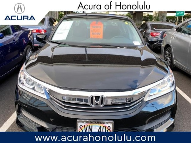 Used 2016 Honda Accord LX Sedan Honolulu, HI