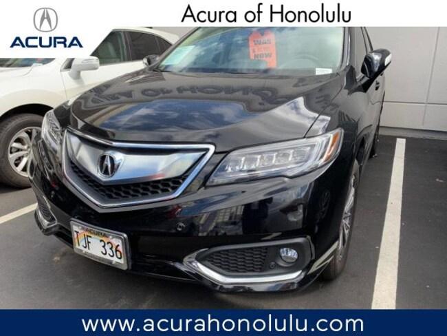 Used 2017 Acura RDX V6 with Advance Package SUV Honolulu, HI
