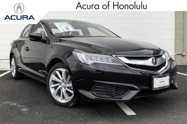 New 2018 Acura ILX with Technology Plus Sedan Honolulu