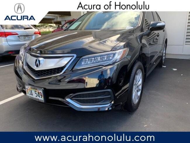 Used 2017 Acura RDX V6 with Technology Package SUV Honolulu, HI