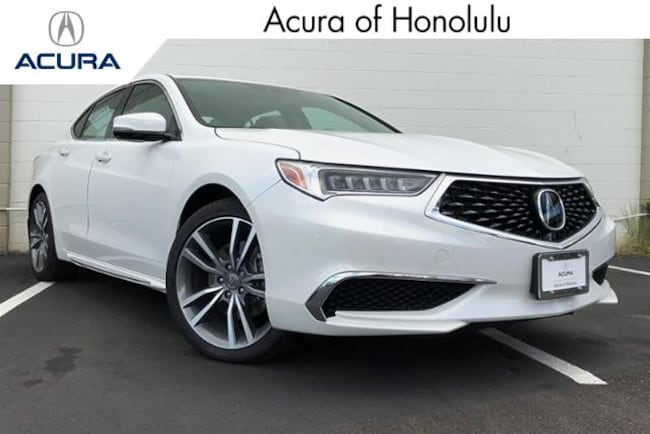 New 2019 Acura TLX 3.5 V-6 9-AT SH-AWD with Technology Package Sedan Honolulu