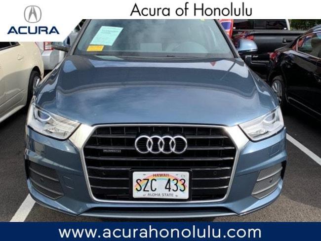Used 2017 Audi Q3 2.0T Premium Plus SUV Honolulu, HI