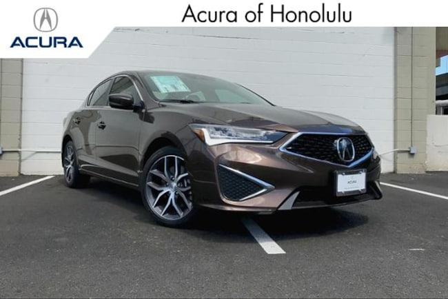 New 2019 Acura ILX with Premium Sedan Honolulu