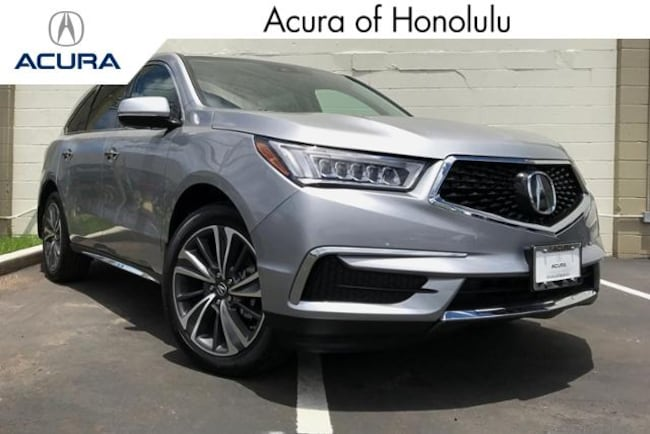 New 2019 Acura MDX SH-AWD with Technology Package SUV Honolulu
