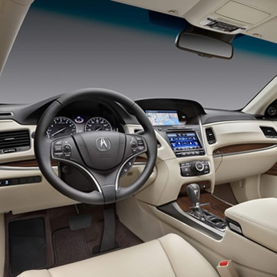 2017 Acura RLX Interior Amenities title=