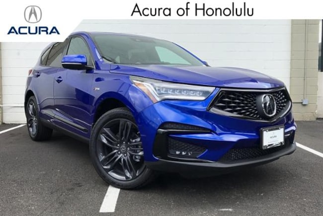 New 2019 Acura RDX SH-AWD with A-Spec Package SUV Honolulu