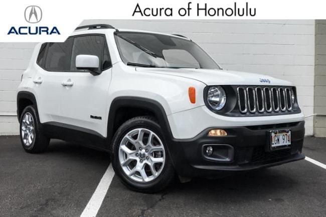 Used 2017 Jeep Renegade Latitude FWD SUV Honolulu, HI