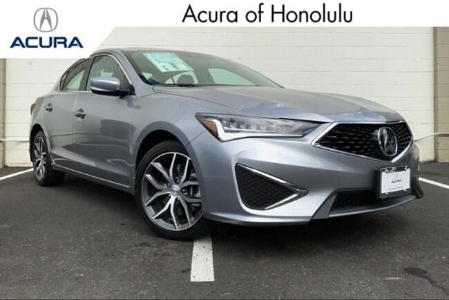 New 2019 Acura ILX with Premium Sedan Honolulu
