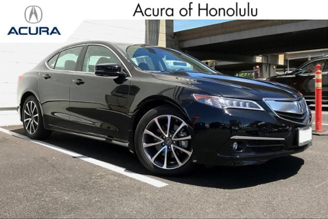 2017 Acura TLX V6 with Advance Package Sedan