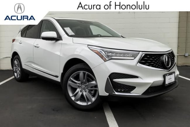 New 2019 Acura RDX with Advance Package SUV Honolulu
