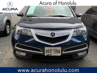 Used 2012 Acura MDX MDX with Technology Package SUV Honolulu, HI