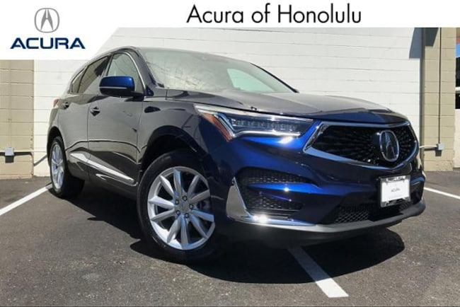 New 2020 Acura RDX Base SUV Honolulu