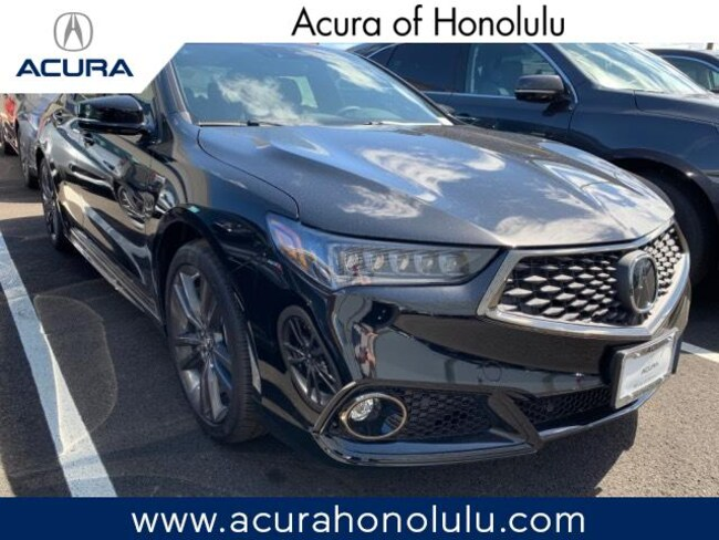 New 2019 Acura TLX 3.5 V-6 9-AT SH-AWD with A-SPEC Sedan Honolulu